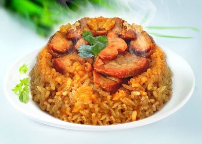 GLUTINOUS RICE CHICKEN